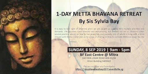 1-Day Metta Bhavana Retreat by Sis Sylvia Bay @ BF East Centre