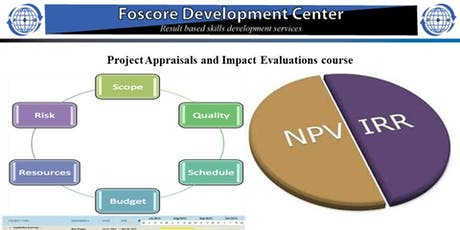 Project Appraisals and Impact Evaluations course tickets