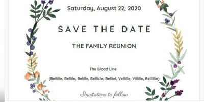 **2020 The Bellille Family Gathering & Reunion Celebration Event**