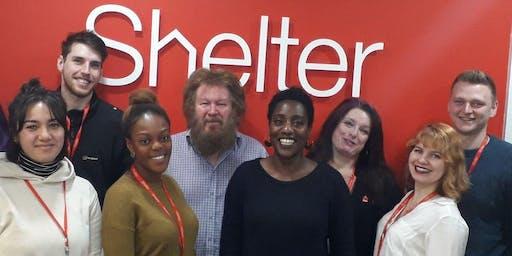 Showcasing Shelter in Greater Manchester September 17th