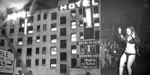 """""""Hotel Horrors and Main Street Vice"""" Downtown L.A. History Sightseeing Tour"""