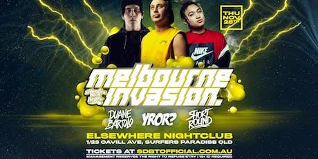 Schoolies Do It Better Presents Melbourne Invades tickets