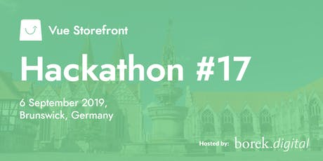 Vue Storefront Hackathon #17 @ Brunswick, Germany Tickets