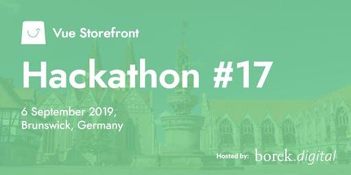 Vue Storefront Hackathon #17 @ Brunswick, Germany
