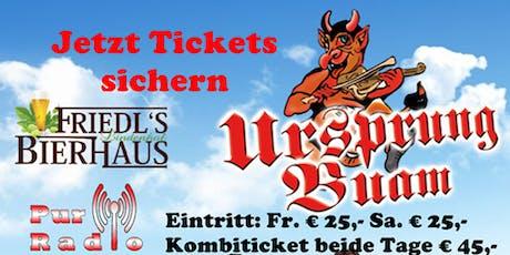 Ursprung Buam Live in Wien tickets