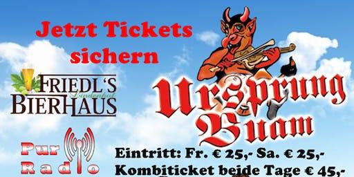 Ursprung Buam Live in Wien