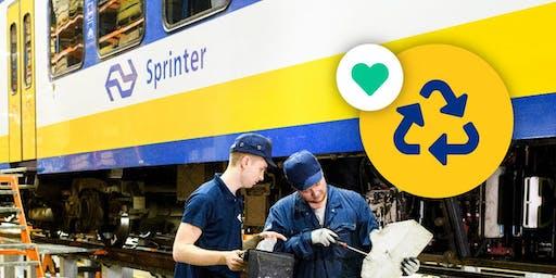 Schouwdagen sprinter SGM: Een tweede leven voor de trein