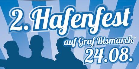 2. Hafenfest auf Graf Bismarck / Samstag Tickets