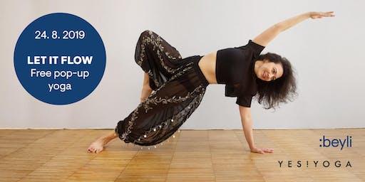 Let it flow – free PopUp Yoga @beyli Studio