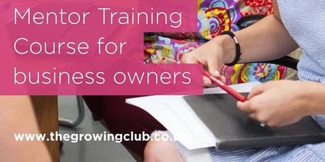 Mentor Training Course for Business Owners tickets
