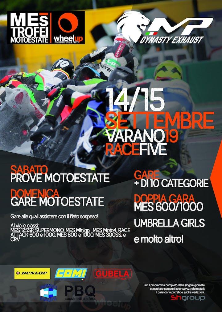 Autodromo Varano Calendario 2020.14 15 Settembre Quinto Round Trofei Wheelup Mes A Varano