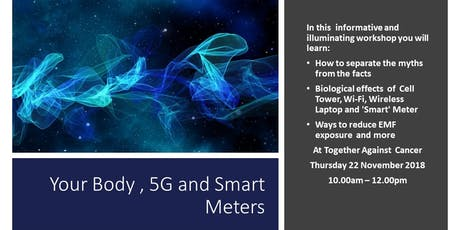 Your Body, 5G & Smart Meters tickets