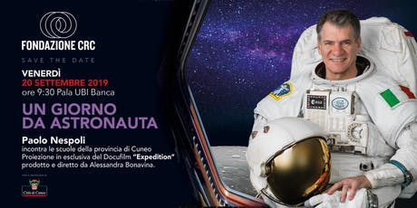 Un giorno da astronauta con Paolo Nespoli biglietti