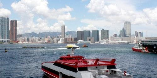 TurboJET Hong Kong Kowloon to Macau Outer Harbor: Fast Track
