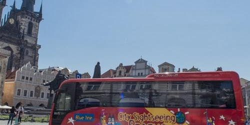 Hop-on Hop-off Bus Prague + Jewish Quarter Tour