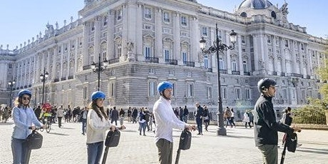 Segway Tour with Madrid Highlights & Almudena Cathedral tickets