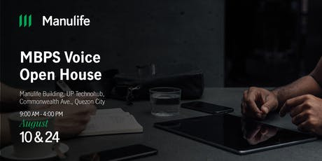 QC Voice Account Open House (Aug 2019) tickets