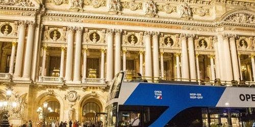 Open Bus Tour: Paris by Night