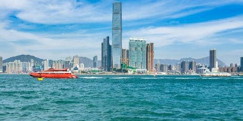 TurboJET Macau Outer Harbor to Hong Kong Kowloon: Fast Track