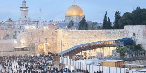 Jerusalem, Bethlehem & Dead Sea: Roundtrip from Jerusalem