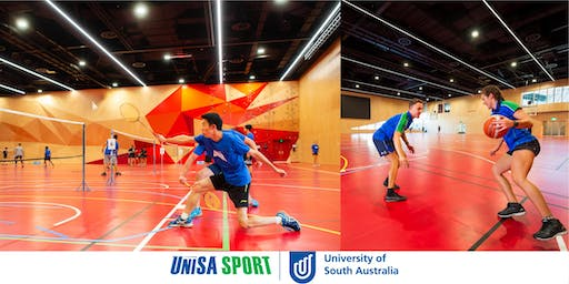 UniSA Students vs Staff Basketball/Badminton - Who will win?