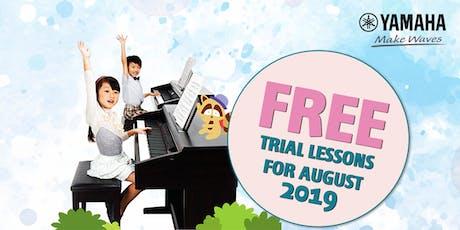 FREE Trial Lesson @ Yamaha Music School | Ang Mo Kio Branch | Sep'19 tickets