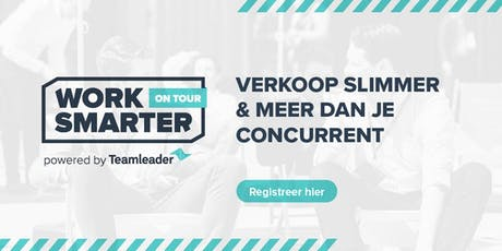 Work Smarter on Tour - Waregem - Powered by Teamleader tickets