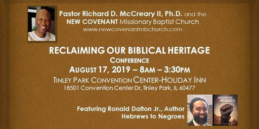 Reclaiming Our Biblical Heritage Conference