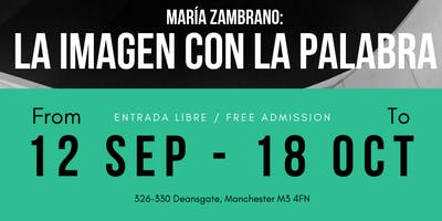 Maria Zambrano: the image with the word