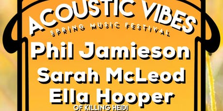 Acoustic Vibes Mildura tickets