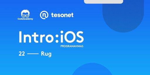 Intro: iOS programavimas