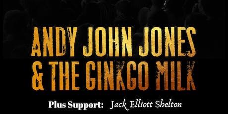 Andy John Jones & the Ginkgo Milk @ The Water Rats tickets