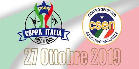 1° Coppa Italia CSEN Pole Dance biglietti