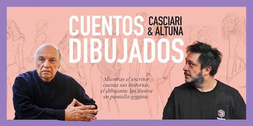 «Cuentos dibujados», Casciari & Altuna ✦ SÁB 21 SEPT ✦ Mercedes