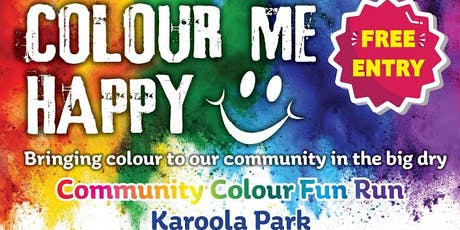 Colour me Happy- Community Colour Fun Run tickets