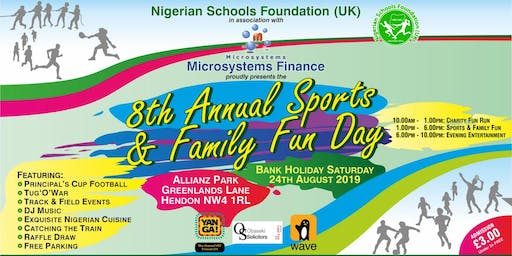 NSF (UK) Family Fun Day 2019