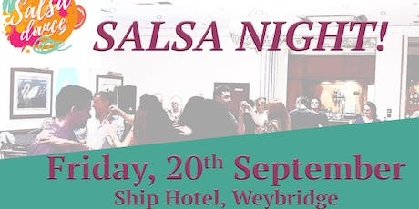 Weybridge Salsa Night - Salsa classes and party tickets