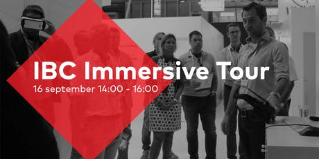 IBC Immersive Media Tour tickets