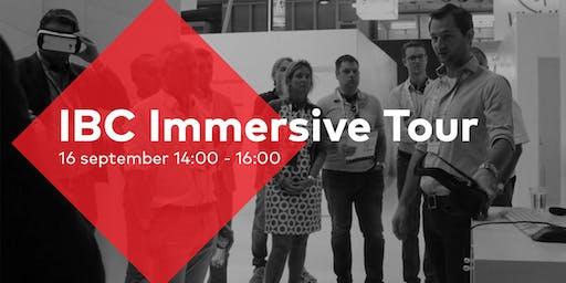 IBC Immersive Media Tour