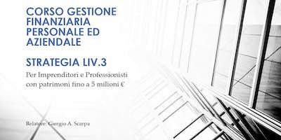 Strategie gestione finanaziaria personale - Livello 3