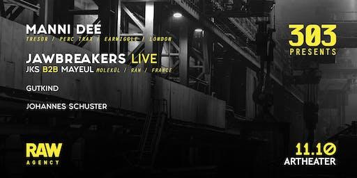 303 at Artheater w/ Manni Dee & Jawbreakers live