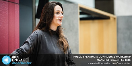 MTP Engage Manchester 2020 - #UPFRONT: Public Speaking and Confidence Workshop tickets