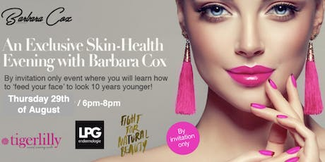 Skin Health - Feed Your Face with Nutrition tickets