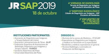Jornada de Radiología SAP 2019 entradas