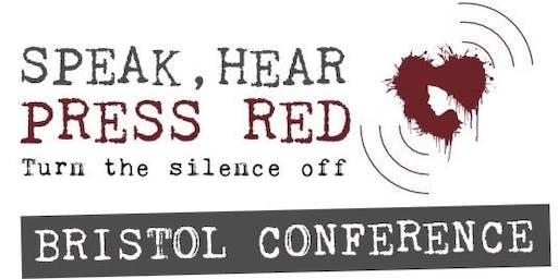 Speak, Hear, Press Red!