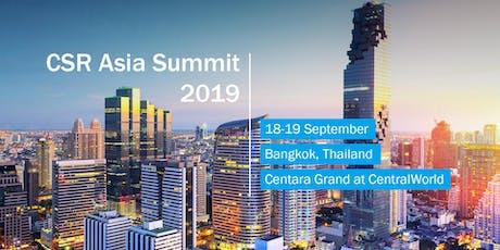 CSR Asia Summit 2019 tickets
