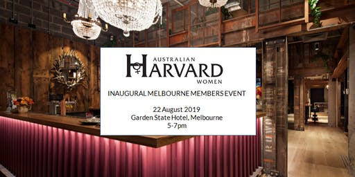 Melbourne - Australian Harvard Women Members Event
