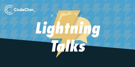 CodeClan Lightning Talks with Alumni tickets