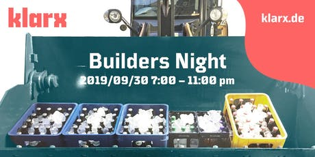 klarx Builders Night Tickets