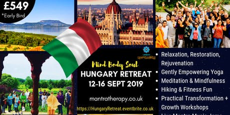 The Mantra Therapy / Urban Spirituality Mind Body Soul Summer Wellness Retreat - Hungary tickets